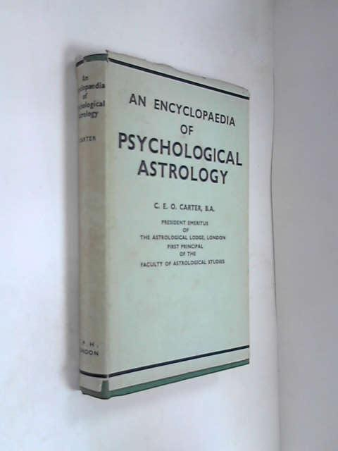 Encyclopaedia of Psychological Astrology, Carter, Charles Ernest Owen