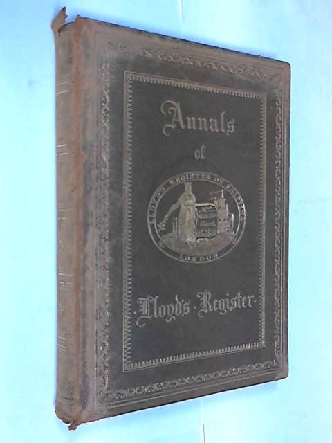 Annals of Lloyd's Register, -