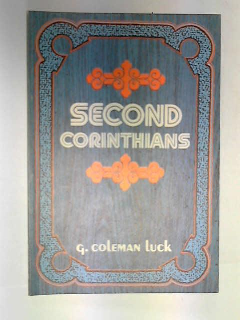 Second Corinthians, Luck, G. Coleman