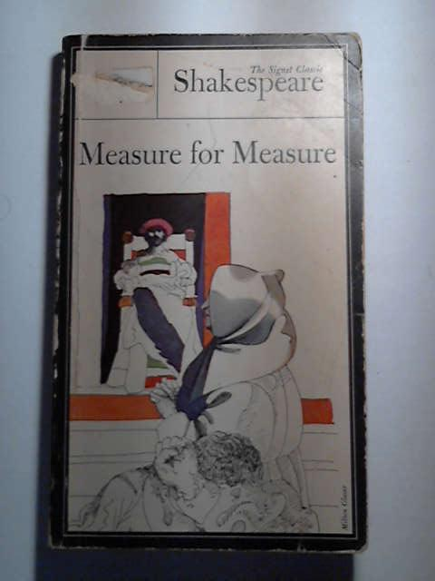 Measure For Measure, Shakespeare, William