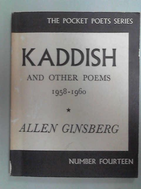 Kaddish and Other Poems (Pocket Poets), Allen Gindberg