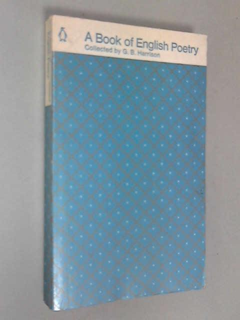English Poetry: Chaucer to Rossetti, Harrison