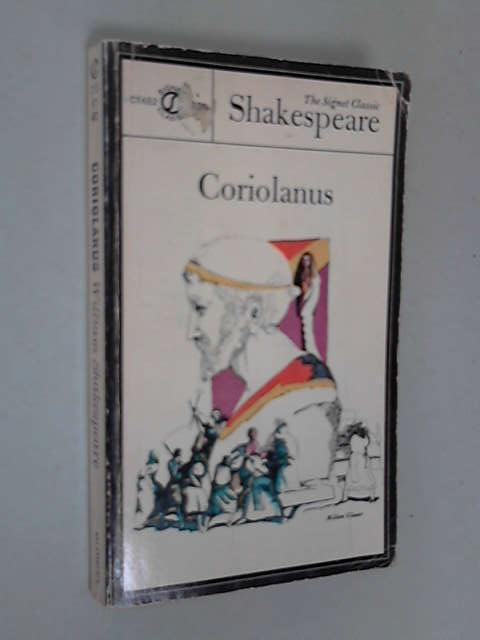 Coriolanus, Shakespeare, William