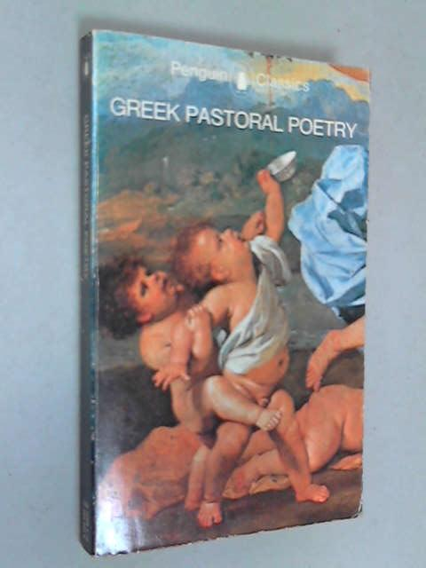 Greek Pastoral Poetry, Anon