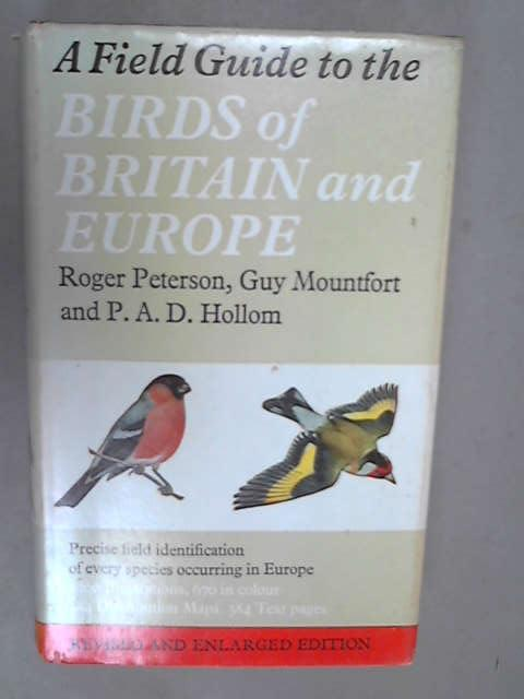 Collins Field Guide - Birds of Britain and Europe, Peterson, Roger Tory