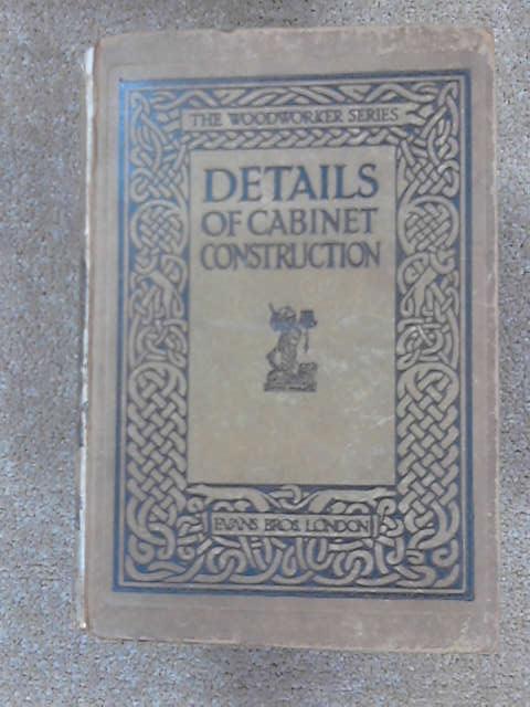 Details of Cabinet Construction, 202