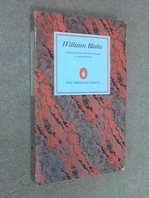 Selected Poems and Letters, William Blake