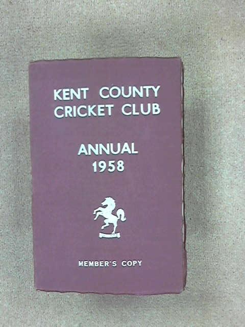 Kent County Cricket Club 1958, (Kent County Cricket Club)