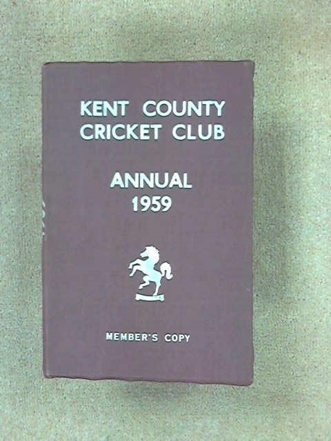 Kent County Cricket Club Annual 1959, (Kent County Cricket Club)