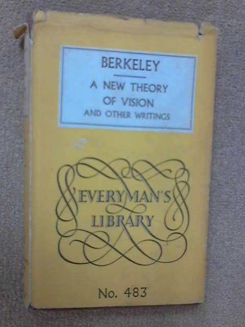 New Theory of Vision and Other Writings, George Berkeley