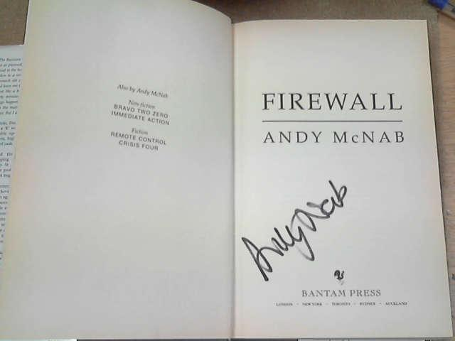 Firewall, McNab, Andy