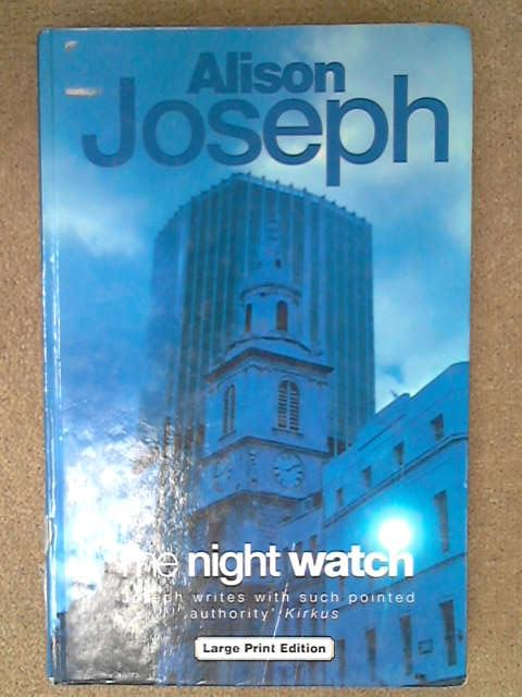 The Night Watch, Alison Joseph