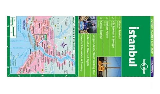 Istanbul (Lonely Planet City Map), Lonely Planet