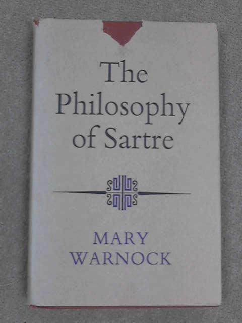 Philosophy of Sartre, Warnock, Mary
