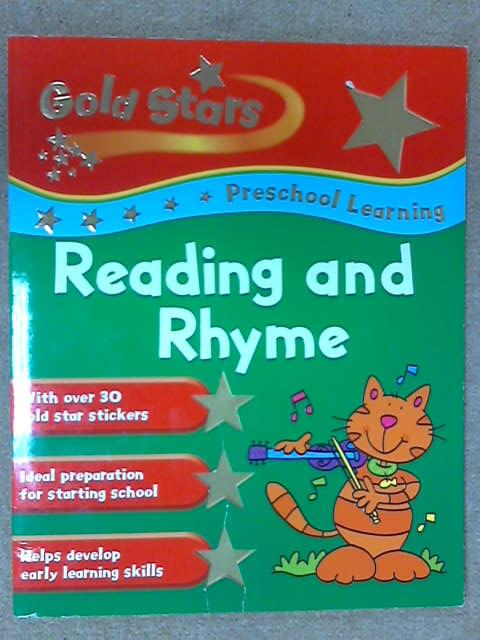 Reading and Rhyme (Gold Stars Pre-school Learning), Betty Root