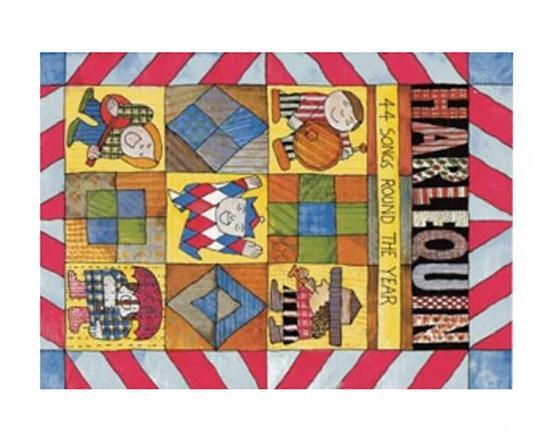 Harlequin: 44 Songs Round the Year (Songbooks), Beatrice Harrop & David Gadsby