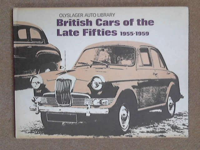 British Cars of the Late Fifties, 1955-59, Anon