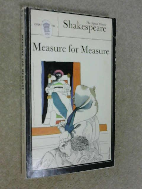 Measure For Measure, Shakespeare, William