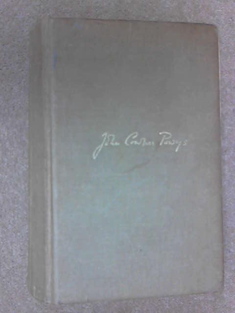 A Glastonbury Romance, John Cowper Powys