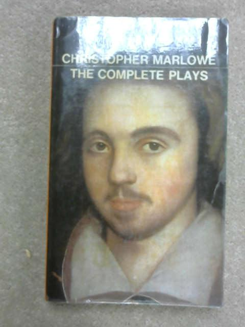 Christopher Marlowe: The Complete Plays, J. B. Steane [ed]