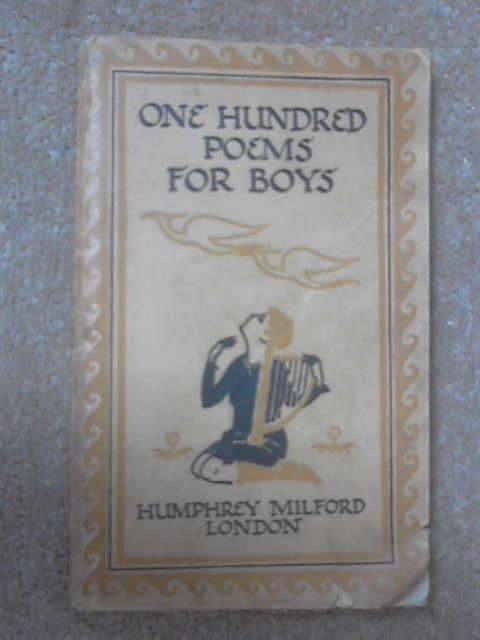 One Hundred Poems for Boys, Herbert Strang (Ed.)