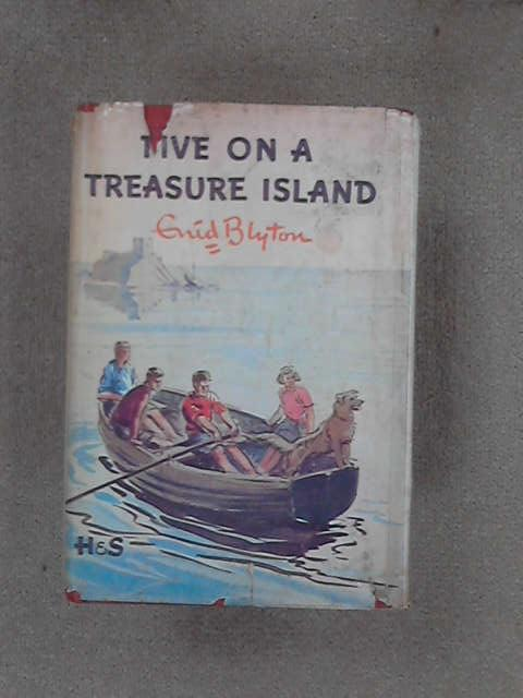 Five on a Treasure Island, Blyton, Enid
