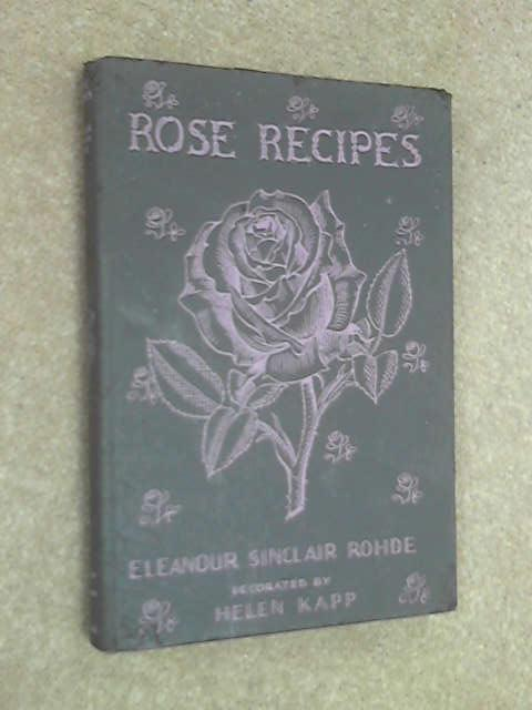Rose Recipes