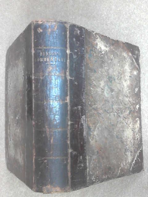 Benson's Commentary Vol.II & III, Benson