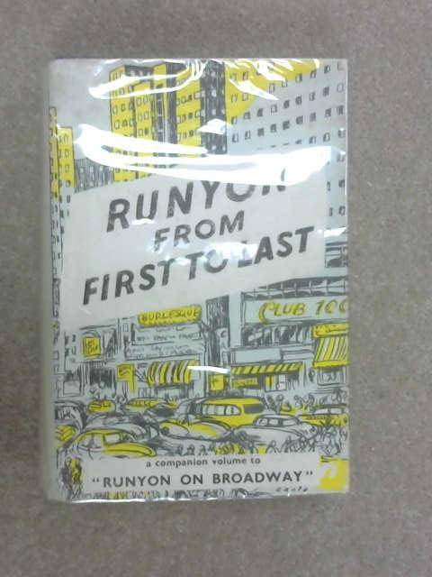 Runyon from First to Last, Damon Runyon