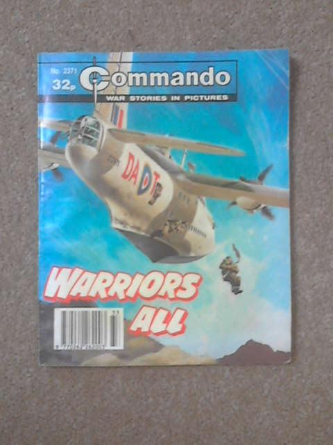 Commando No 2371 - Warriors All, Unknown
