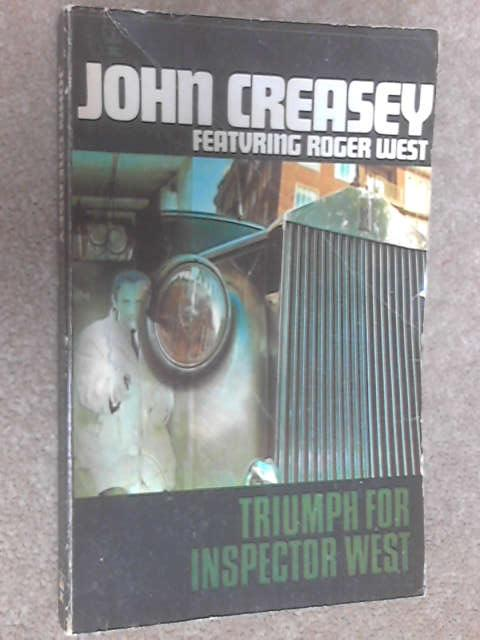 Triumph for Inspector West, John Creasey