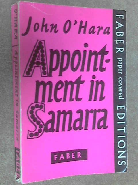 Appointment in Samarra, John O'Hara