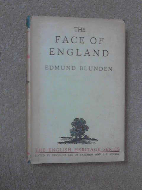 Edmund Blunden the face of england
