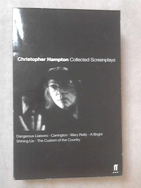 Collected Screenplays, Christopher Hampton