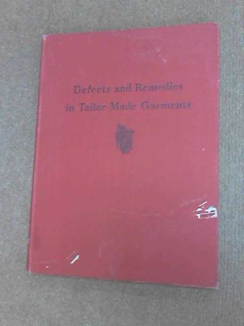 Defects Remedies in tailor-made Garments, Dellafera, Phillipa