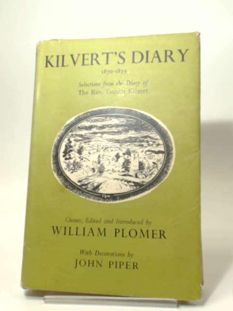Kilvert's Diary, William Plomer