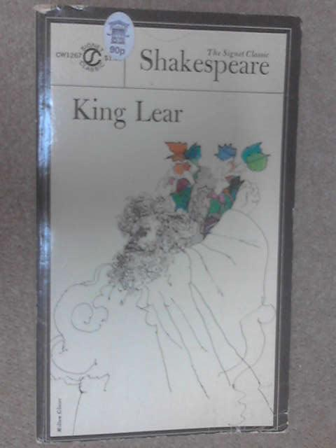 The Tragedy of King Lear, Shakespeare, William