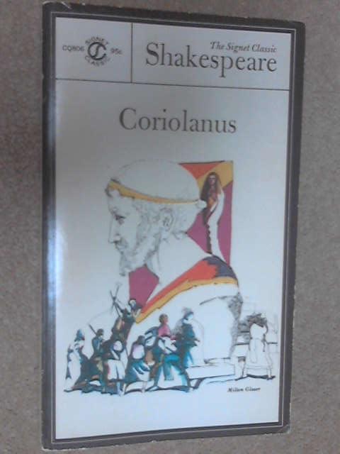 The Tragedy of Coriolanus, Shakespeare, William