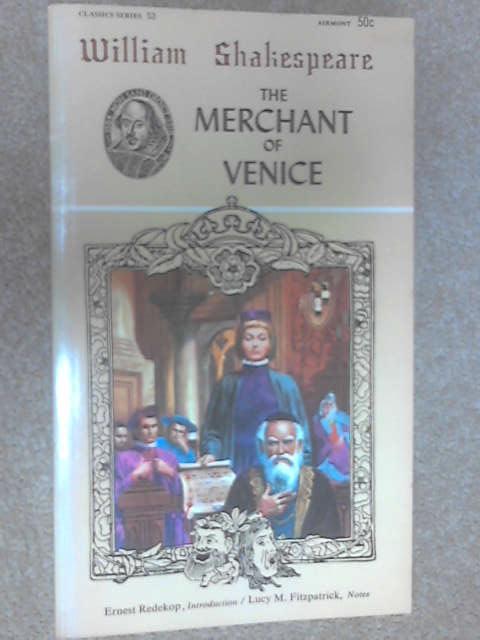 The Merchant of Venice, Shakespeare, William