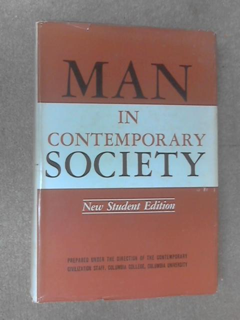 Man in Contemporary Society, Anon