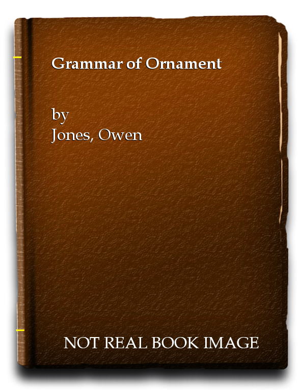Grammar of Ornament, Jones, Owen