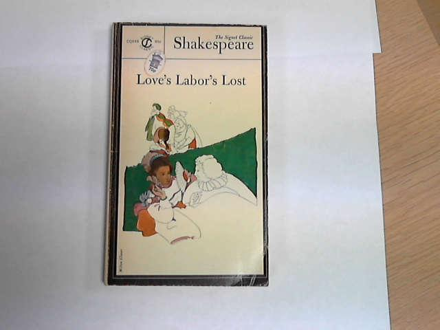 Love's Labor's Lost, Shakespeare, William
