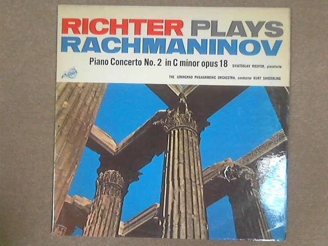 Richter Plays Rachmaninov - Piano-Concerto No. 2 In C Minor Op. 18 LP, Rachmaninov / Sviatoslav Richter / Leningrad Philharmonic / Kurt Sanderling