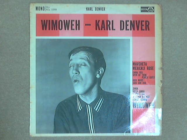 Wimoweh LP Mono, Karl Denver