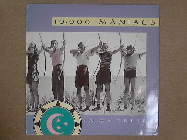 In My Tribe LP, 10,000 Maniacs