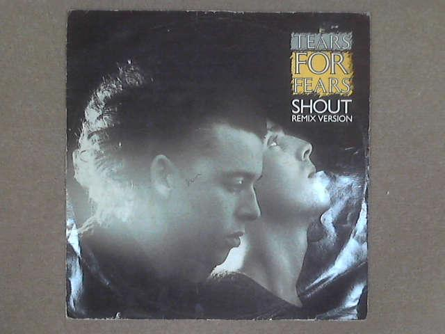 """Shout (Remix Version) 12"""", Tears For Fears"""