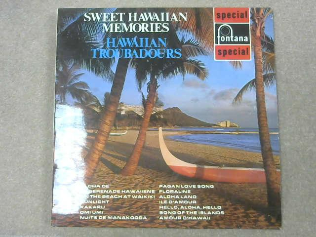 Sweet Hawaiian Memories LP, Hawaiian Troubadours