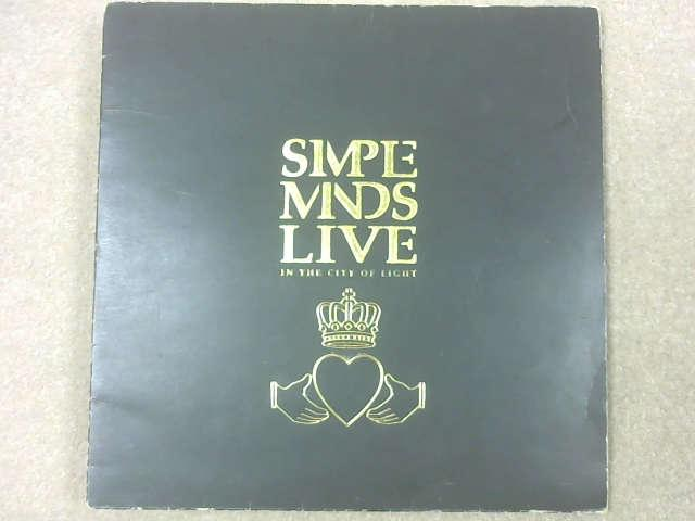 Live In The City Of Light LP Gat, Simple Minds