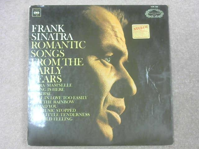 Romantic Songs From The Early Years LP, Frank Sinatra