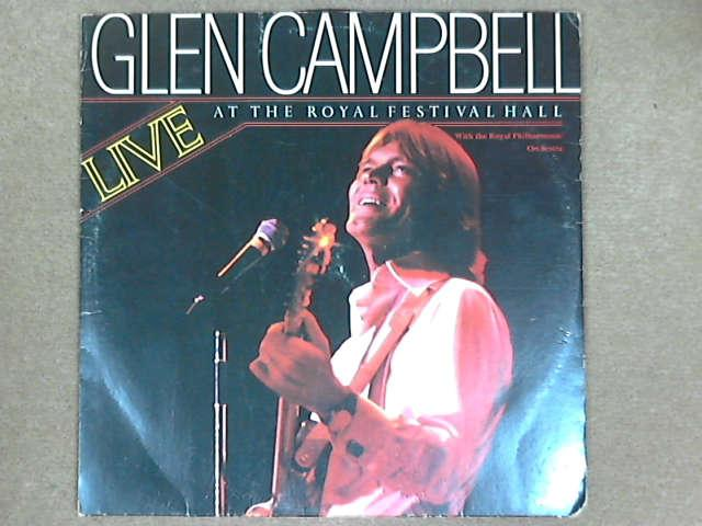 Live at the Royal Festival Hall 2xLP Gat, Glen Campbell / Royal Philharmonic Orchestra